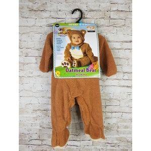 Baby Bear Costume Infant Oatmeal Teddy Bear